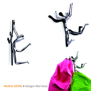 Hangon Wall Hook by Mukul Goyal on Zaarga - Hang your bags, keys, caps, parasols and maybe your worries!