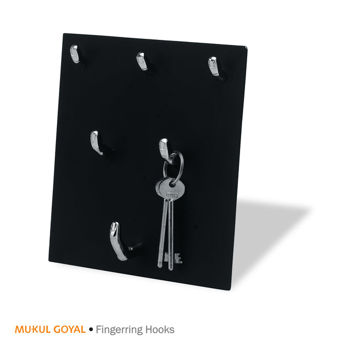 Fingerring Hook by Mukul Goyal on Zaarga - to hang keys, charms