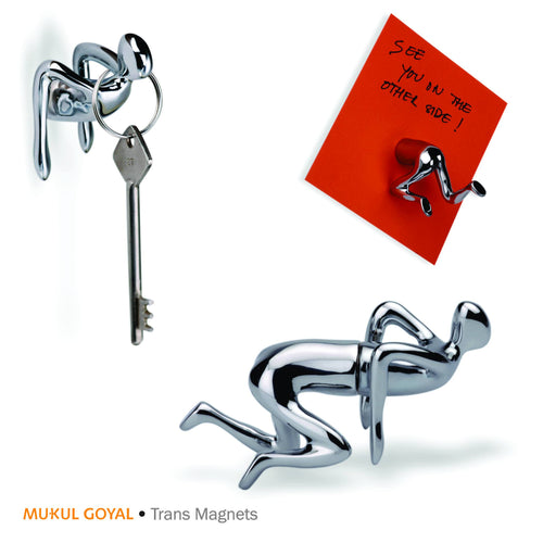 Trans Magnets by Mukul Goyal on Zaarga - finished in Chromed aluminium