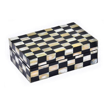 Mother of Pearl Exclusive Chess Design Jewellery Box