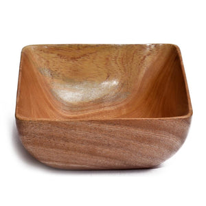 Neemwood Square Bowl Medium(Set of 2)
