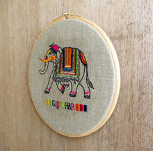 Hoops Wall Art - Elephant