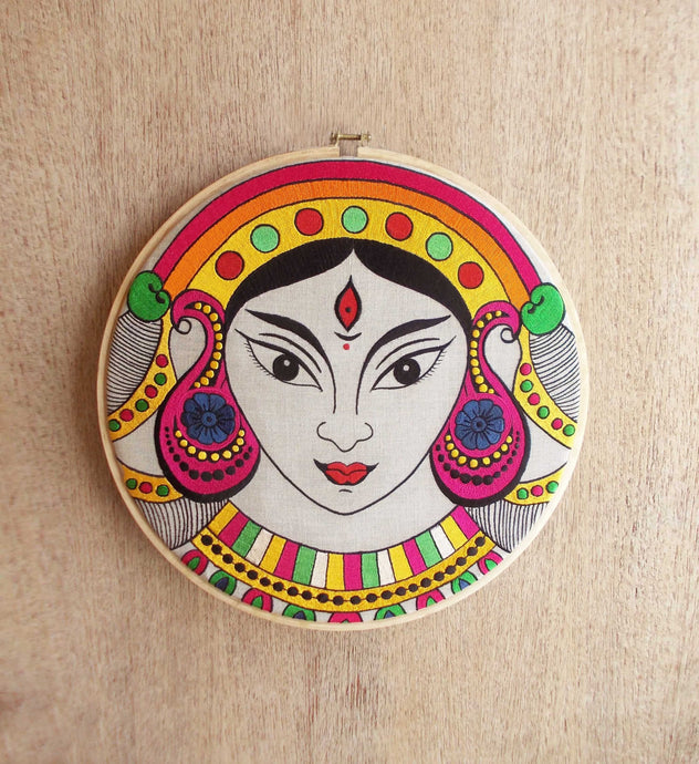 Hoops Wall Art - Durga