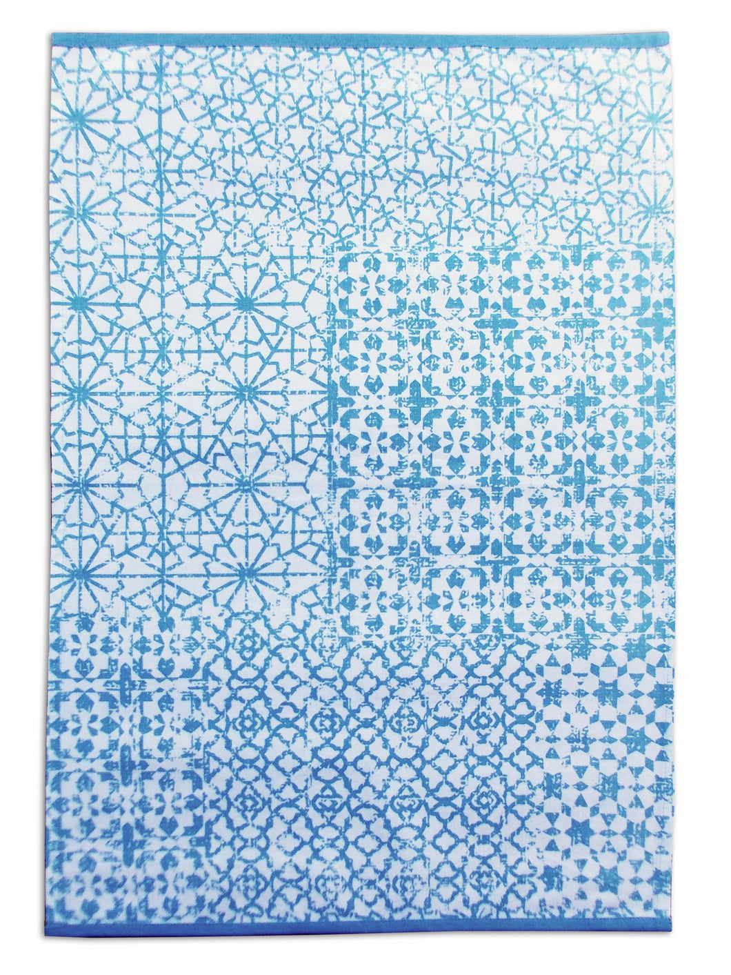 Jharokha- Blue Kitchen Towel