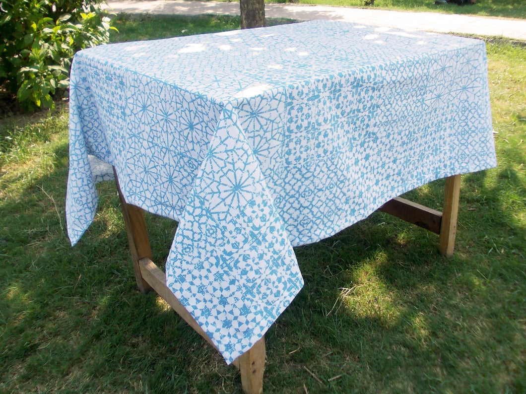 Jharokha- Blue Table cover