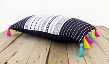 Aztec print pillow cover, cotton pillow case, tribal, standard size 12X20 inches.