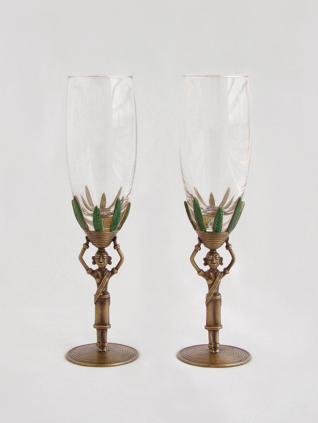 Tribal Lady - Champagne Glass (set of 2)
