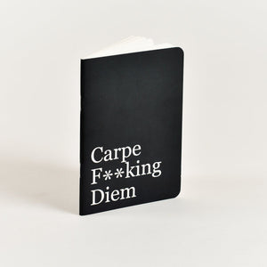 Carpe F**king Diem - Pocket Notebook