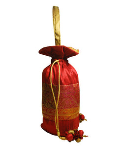 Clean Planet Traditional Potli (Red & Gold)