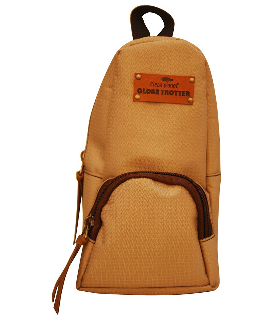 Globetrotter Classic Mini Backpack Accessory Case Textured Beige