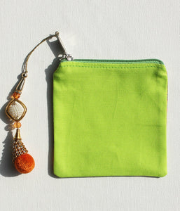 Vibrant Taxis Coin Pouches
