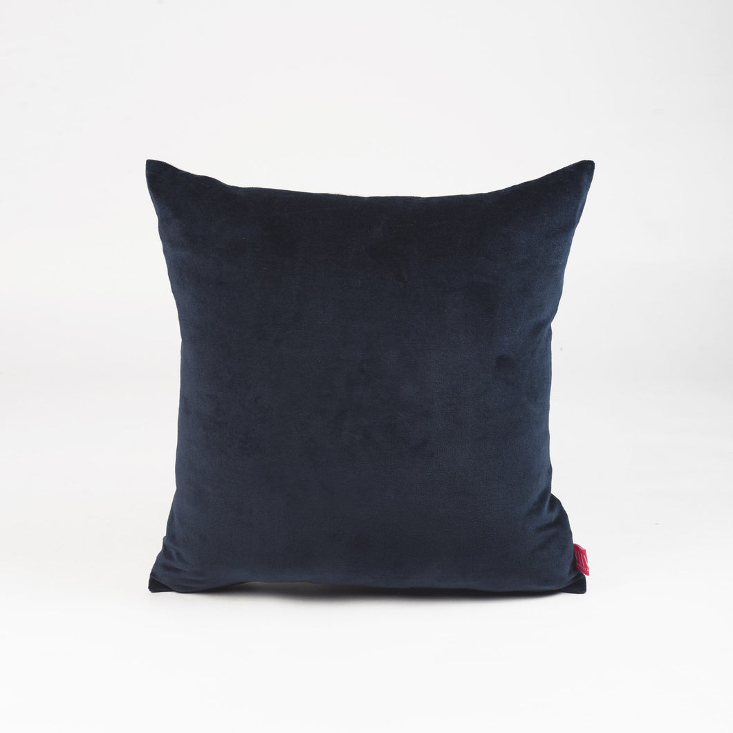 Blue grey velvet pillow cover, fall colour pillow, cotton and linen pillow,  sizes available