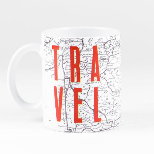 TRAVEL MAP MUG