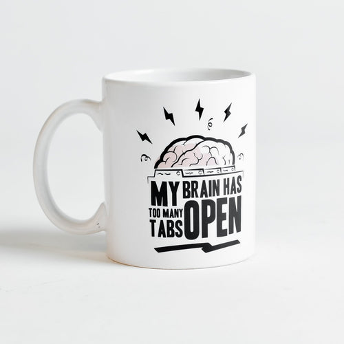 TOO MANY TABS MUG