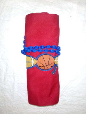 Sports Ball Crayon Tote