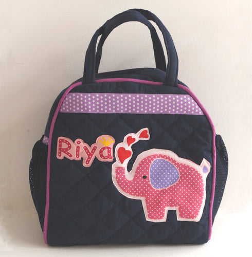 Little Elephant Lunch Bag, Personalized