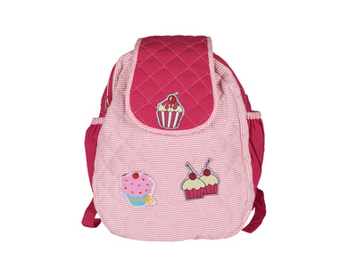 Cupcake Double Compartment  School Bag