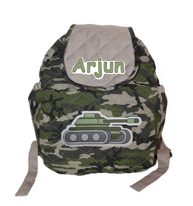 Military School Bag, Personalized