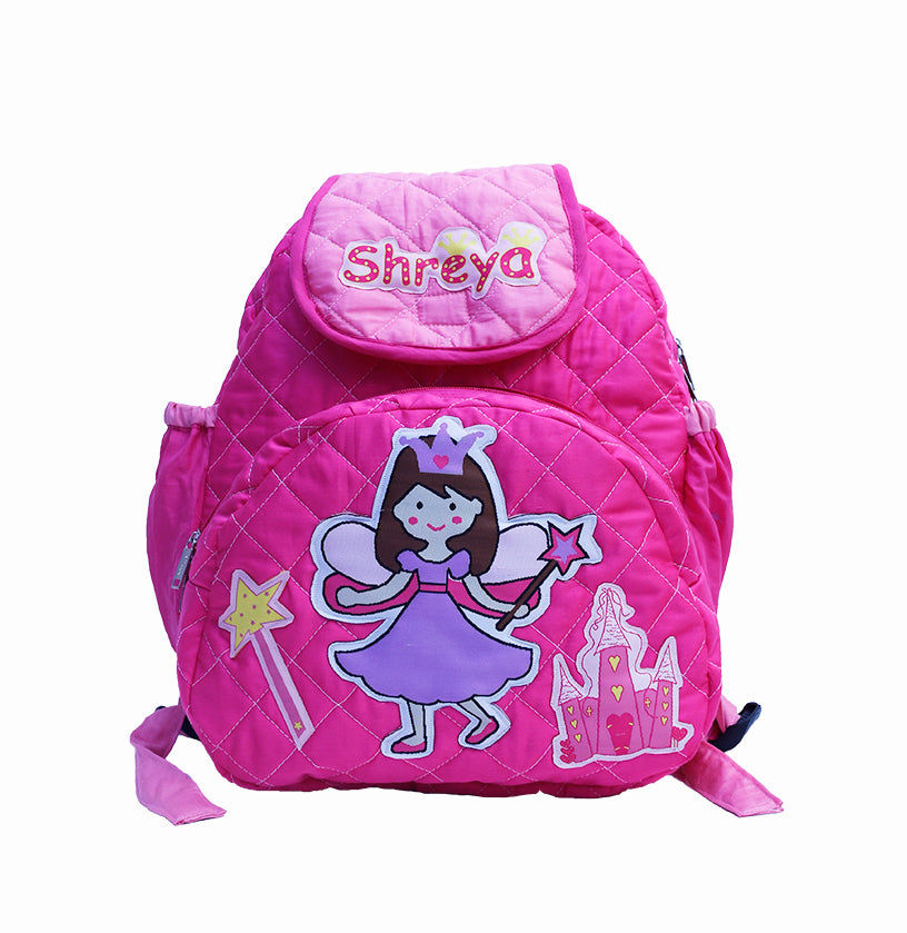 princess school bag with lunch case personalized zaarga