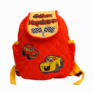 Crazy Car school Bag, Personalised