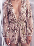 Lust Lux Playsuit Rose Gold