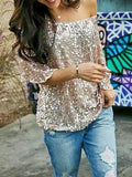 Spaky Off shoulder Blouse