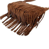 Fashion Brown Tassels Bag