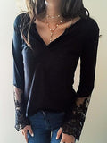 Basic Base Long Sleeve Lace Shirt