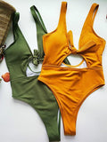 Rainbow Simple Cute One-piece Swimwear