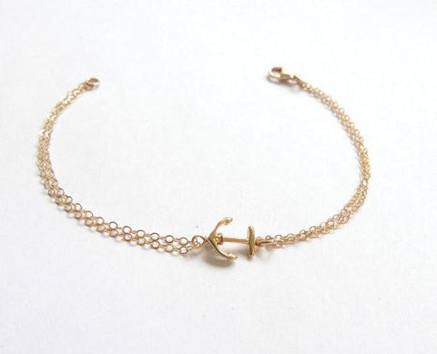 DaysCloth Cute Anchor bracelet