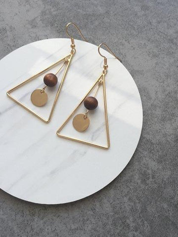DaysCloth Vintage Geometric Pendants Earring