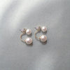 DaysCloth Fashion Freshwater Pearl  Earring