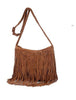 DaysCloth Fashion Brown Tassels Bag