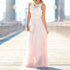 DaysCloth Hollow Out Beach Boho Sleeveless Maxi Vacation Dress