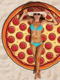 Pizza Sweet Fantasy Beach Blanket