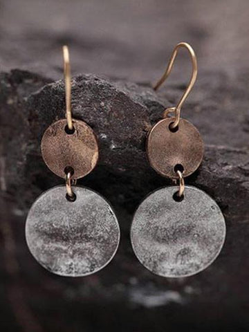 Fashion Hand Made Simple Vintage Earrings