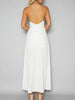 DaysCloth Embroidery Halter Open Back Maxi Dress