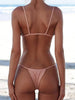 DaysCloth Simple Plain Hot Bikini Set