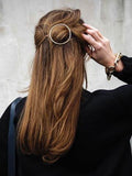 Full Circle Hair Clips