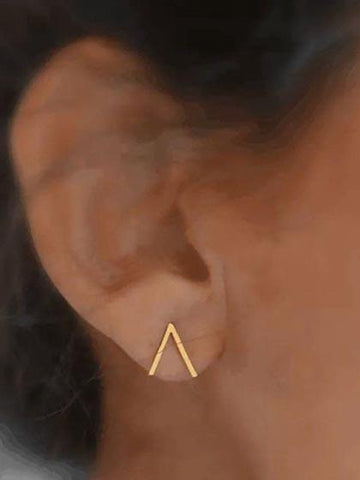 Fashion Alloy Geometric Earring
