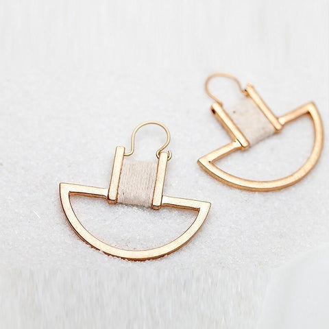 DaysCloth Casual Style Simple Fashion Earring