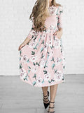 You Are A Vision Floral Print Maxi Dress