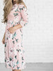DaysCloth You Are A Vision Floral Print Maxi Dress