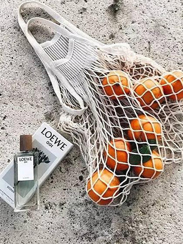 Popular Woven Beach Hollow Fishnet Bag
