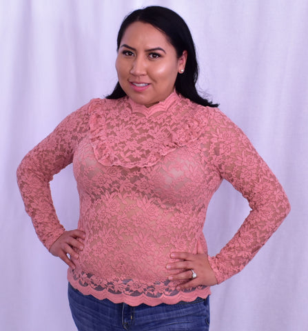 Vanessa Lace Top