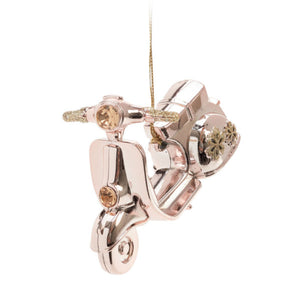 Scooter Ornament Rose Gold