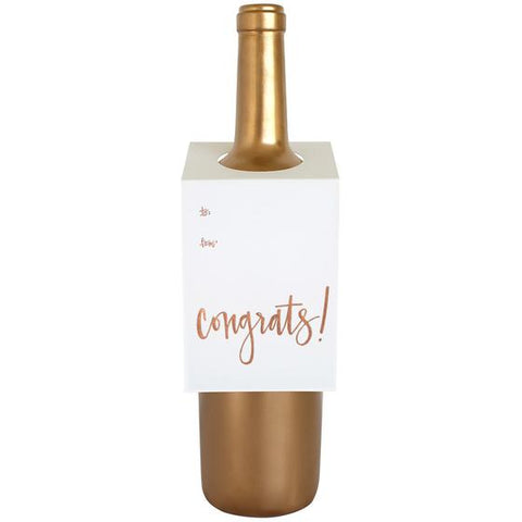 Wine Tag Congrats