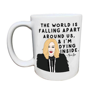 The World Is Falling Apart Schitt's Creek Mug