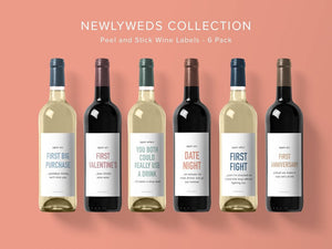 Wine Labels Newlyweds Collection