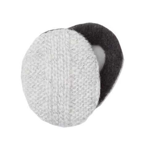 Earbags Bandless Ear Warmers Mohair Cream